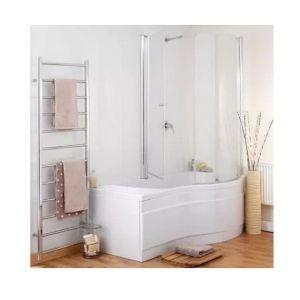 Eastbrook Sigma Type 1 2 Door Shower Screen – 890mm Wide – Right Handed – Silver
