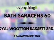 Bath Saracens 60 Royal Wootton Bassett 3rds 5