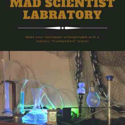 Make your Halloween Amazing with a Mad Scientist's Laboratory
