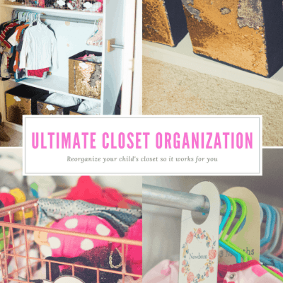 3 Easy steps to the Ultimate Closet Organization (Free Hanger Separator and Label Downloads)
