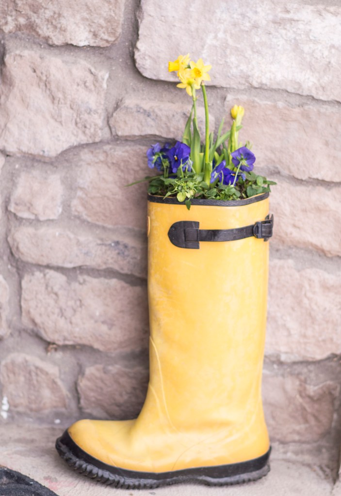 diy spring boot planter You can design a garden with flowers that bloom all year. This guide will give you Perennials for each season that will bloom all season.