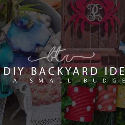 23 DIY Backyard Ideas on a Small Budget