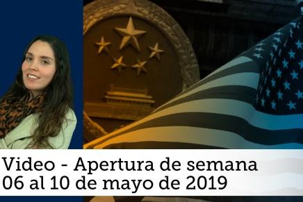 Video semanal: Del 06 al 10 de mayo de 2019