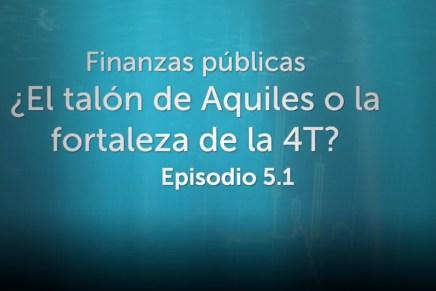 Podcast Semanal: Finanzas públicas ¿El talón de Aquiles o la fortaleza de la 4T?
