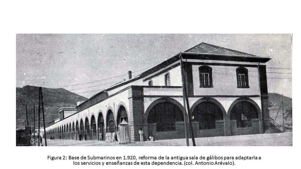 La Base de Submarinos de Cartagena (1915-2015) (2/6)