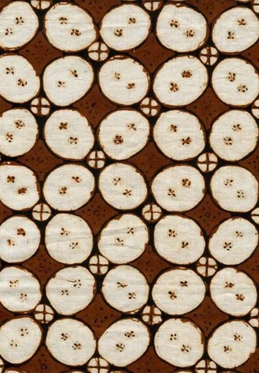 Gambar Batik Yogyakarta - motif kawung 1
