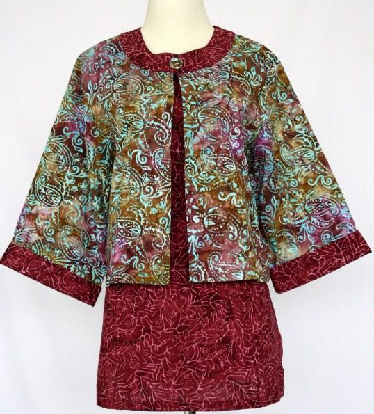 Model Baju Batik Modern sebagai Inovasi Dunia Fashion Indonesia