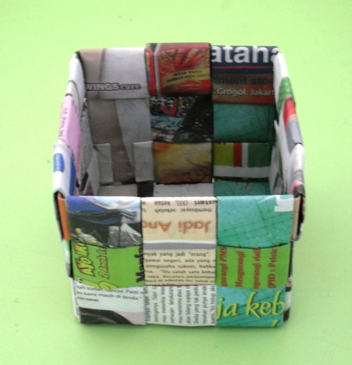 Recycle Woven Basket