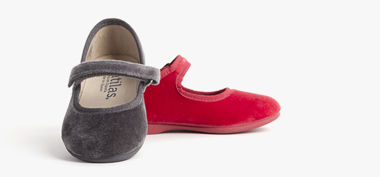 Zapatos de Navidad para niña