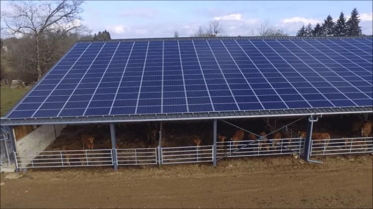 Hangar agricole photovoltaïque gratuit