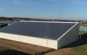 Hangar solaire gratuit Nièvre 58