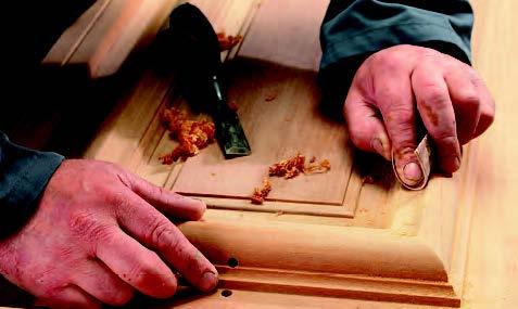 Fabrication d'une fenêtre en bois