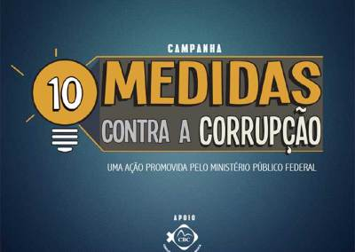 10 medidas contra a corrupção – PDF