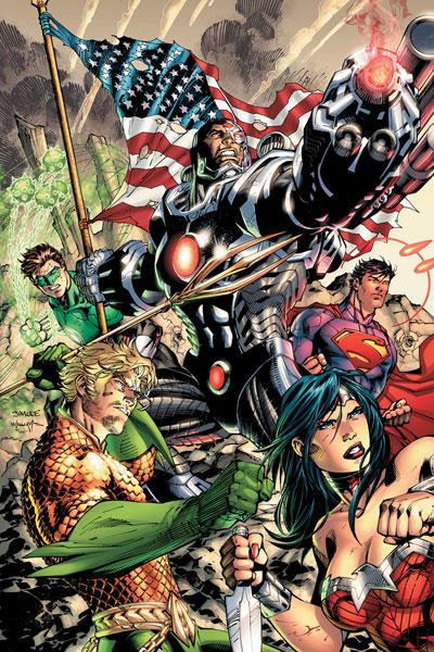 New 52 Justice League 5 Review Batman News