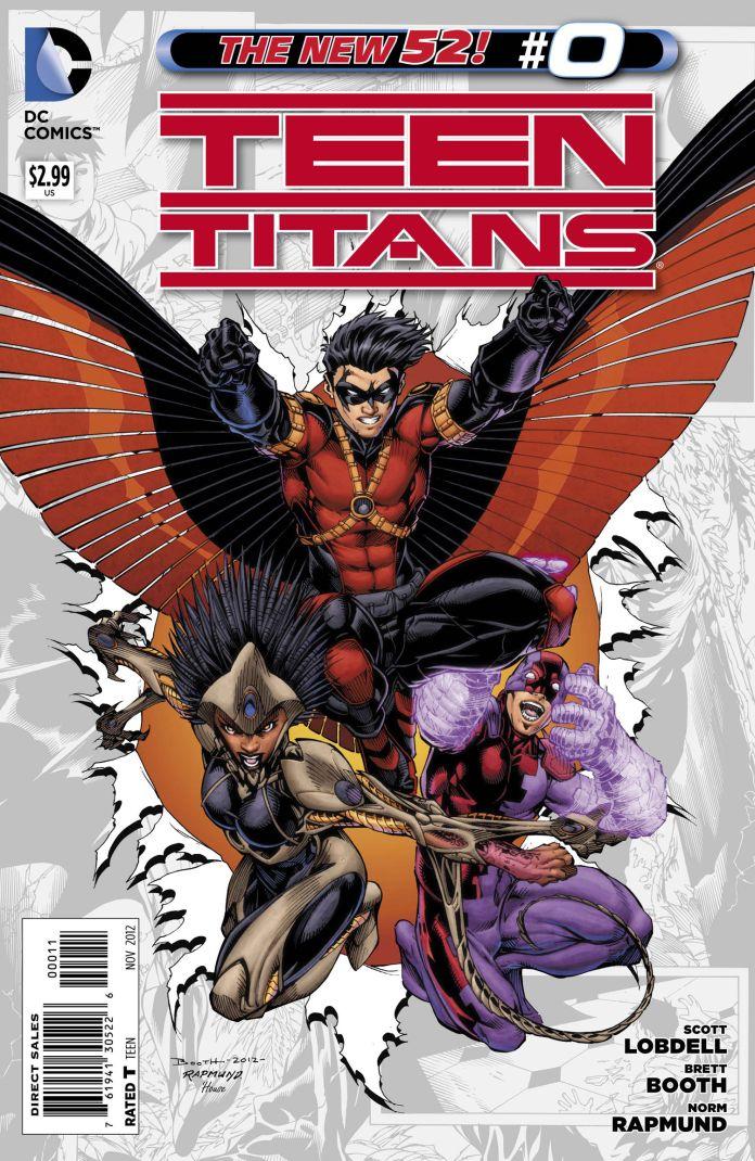 New 52 - Teen Titans 0 Review  Batman News