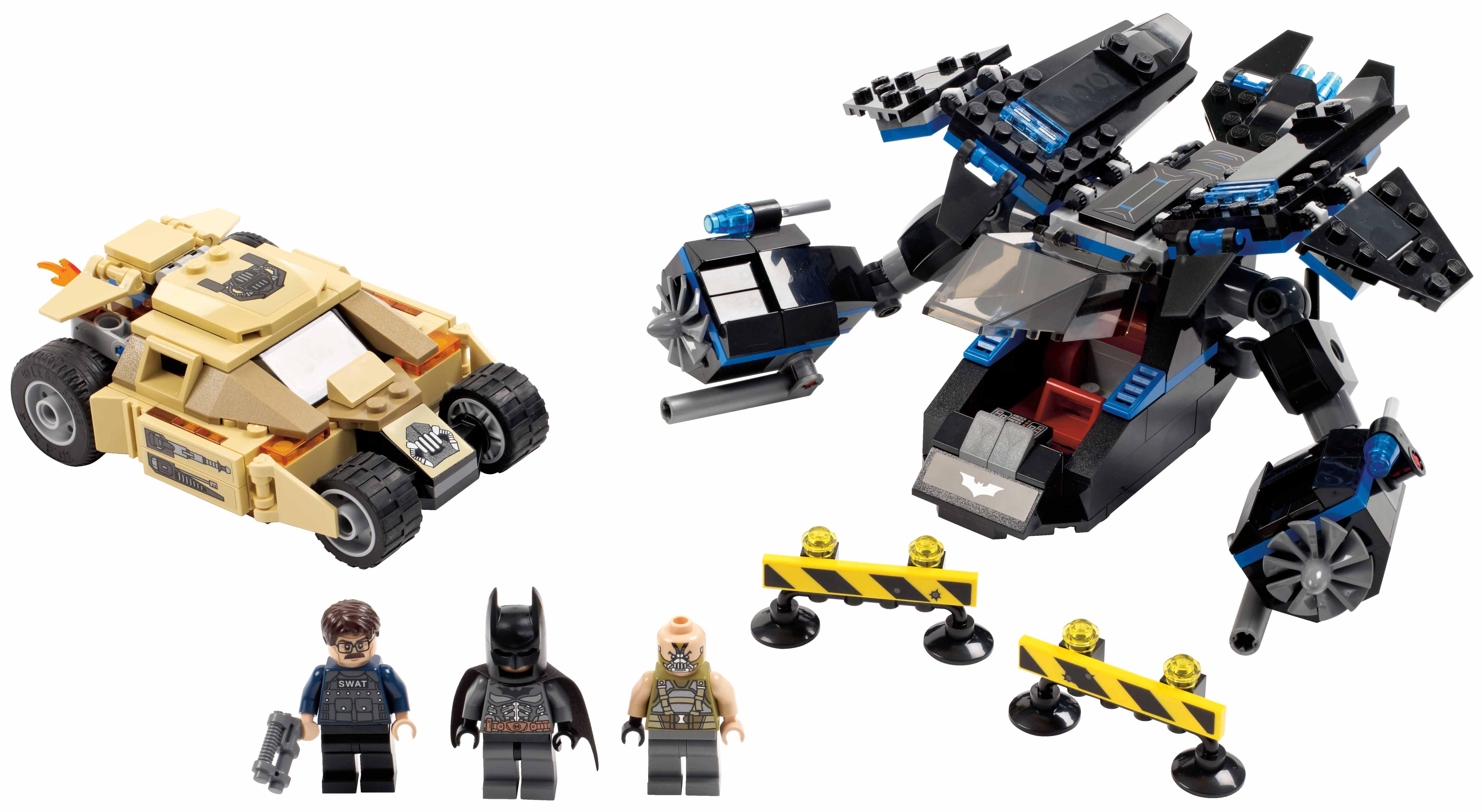 The Dark Knight Rises' LEGO sets coming in 2013 - Batman News