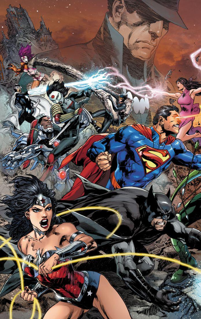 New 52 Justice League 22 Review Batman News