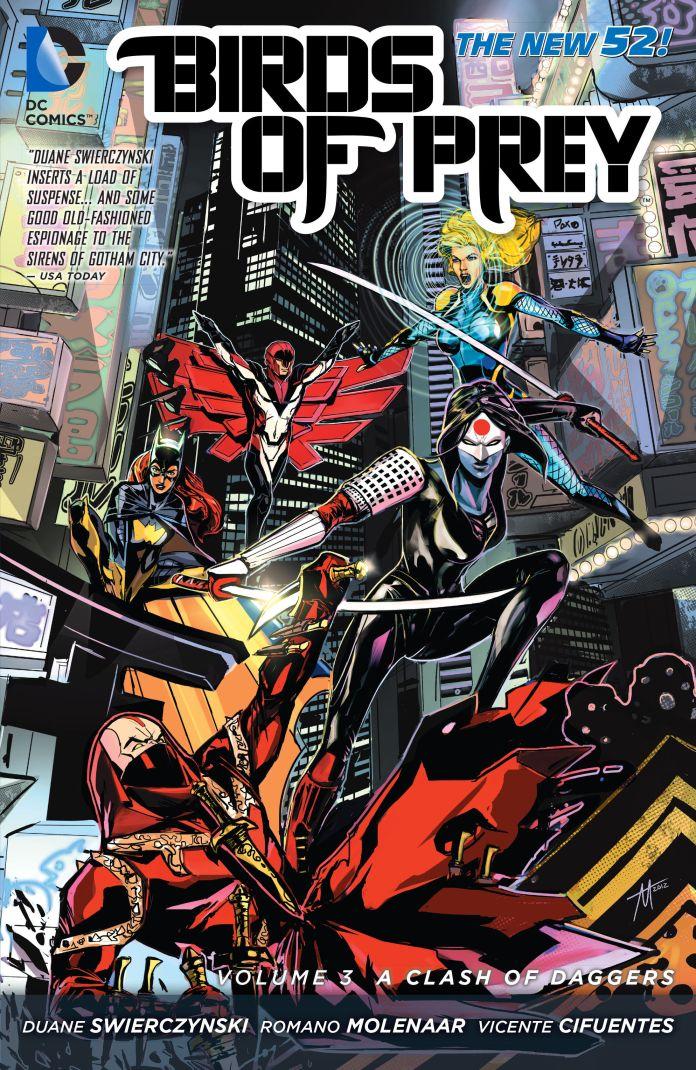 Exclusive Preview Birds Of Prey Vol 3 A Clash Of Daggers Batman News