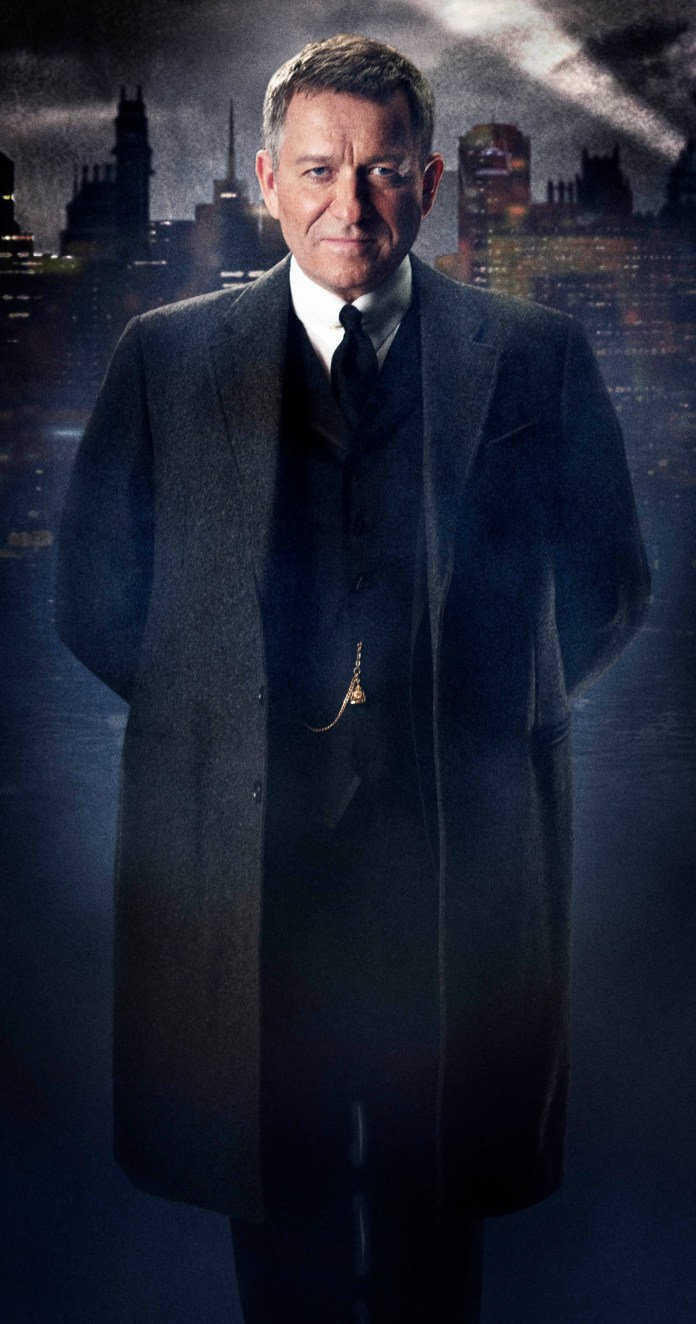 GOTHAM Character Look-Alfred Pennyworth