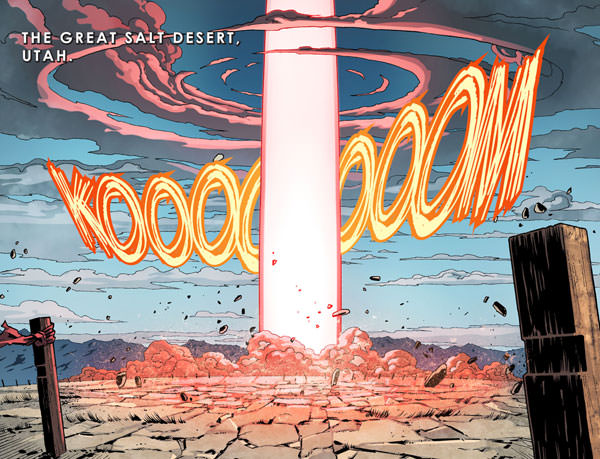 """""""Koooooom"""" is the issue No. 10 echo of """"Krakooooom"""" which closes out digital issue No. 9; either way, it's a great explosion!"""