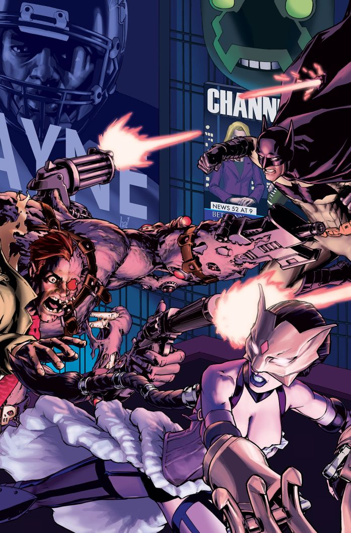 INFINITE CRISIS- FIGHT FOR THE MULTIVERSE #1