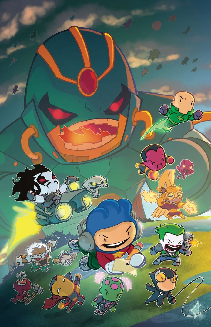 Scribblenauts Unmasked: A Crisis of Imagination #7 review
