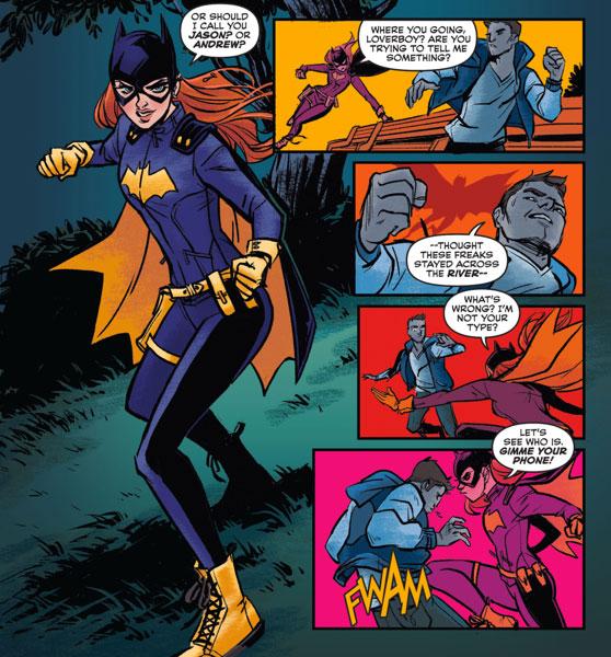 Robin Pulling Off Batgirls Panties Photos