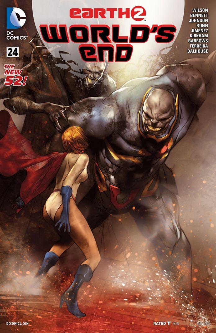 Earth 2: World's End #24 review   Batman News