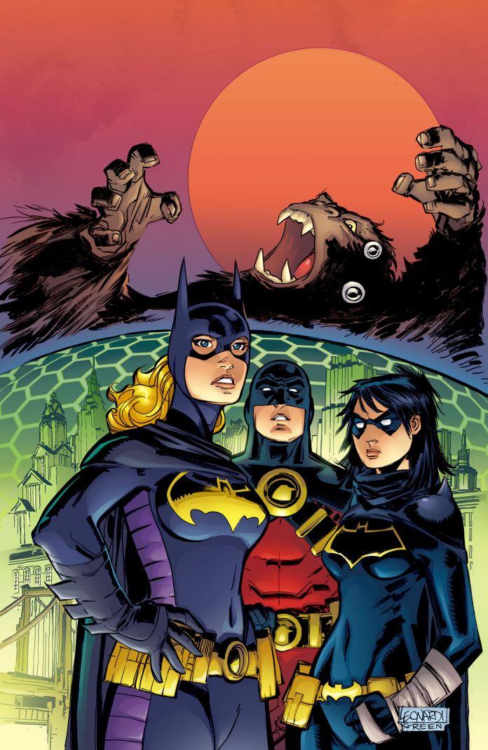 Convergence Batgirl 1