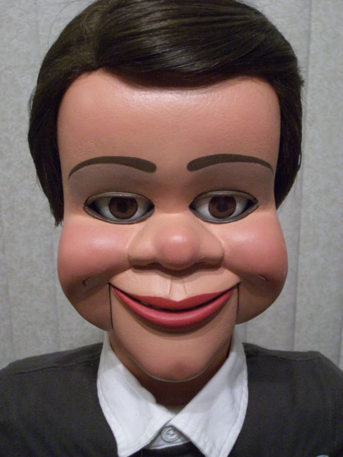 Oh, wait.  Ventriloquist dummies are terrifying.  That's my problem.
