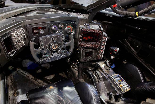 Batmobile Interior 1