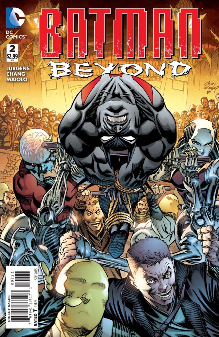 Batman Beyond 2 by Andy Kubert