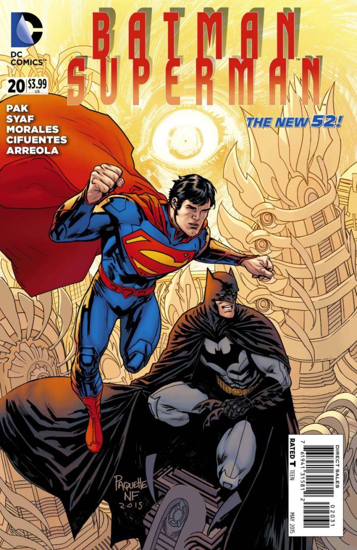 Batman Superman 20 by Yanick Paquette