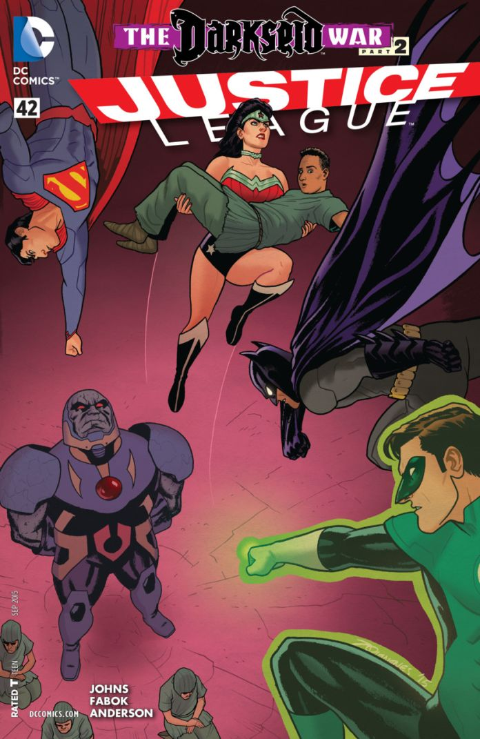Justice League 42 by Joe Quinones
