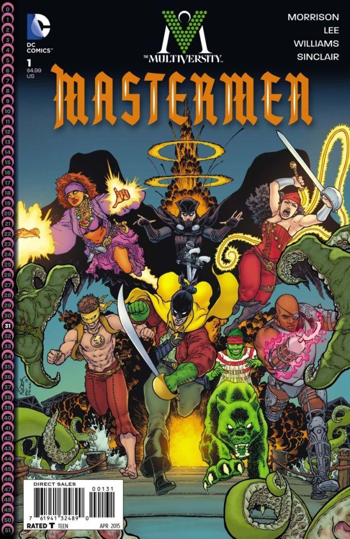 Multiversity Master Men by Aaron Kuder