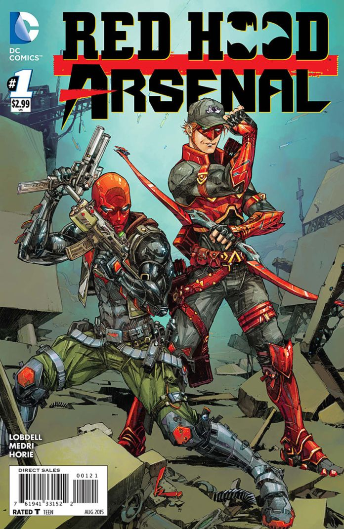 Red Hood Arsenal 1 by Kenneth Rocafort