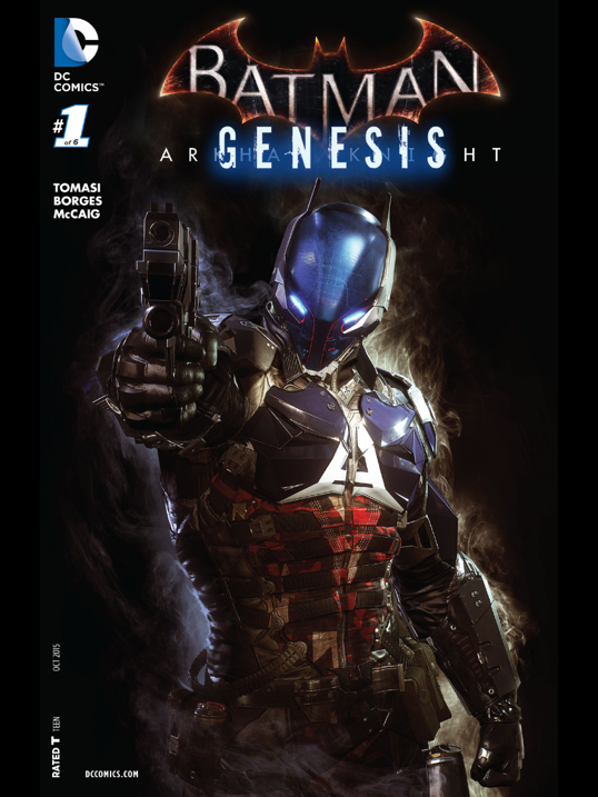 AK Genesis 1 by Stjepan Sejic