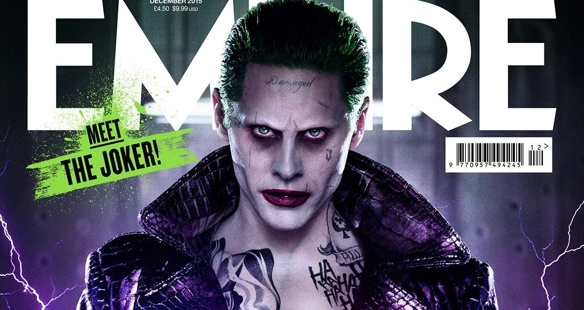 New Hi-res Look At Jared Leto As The Joker In Empire