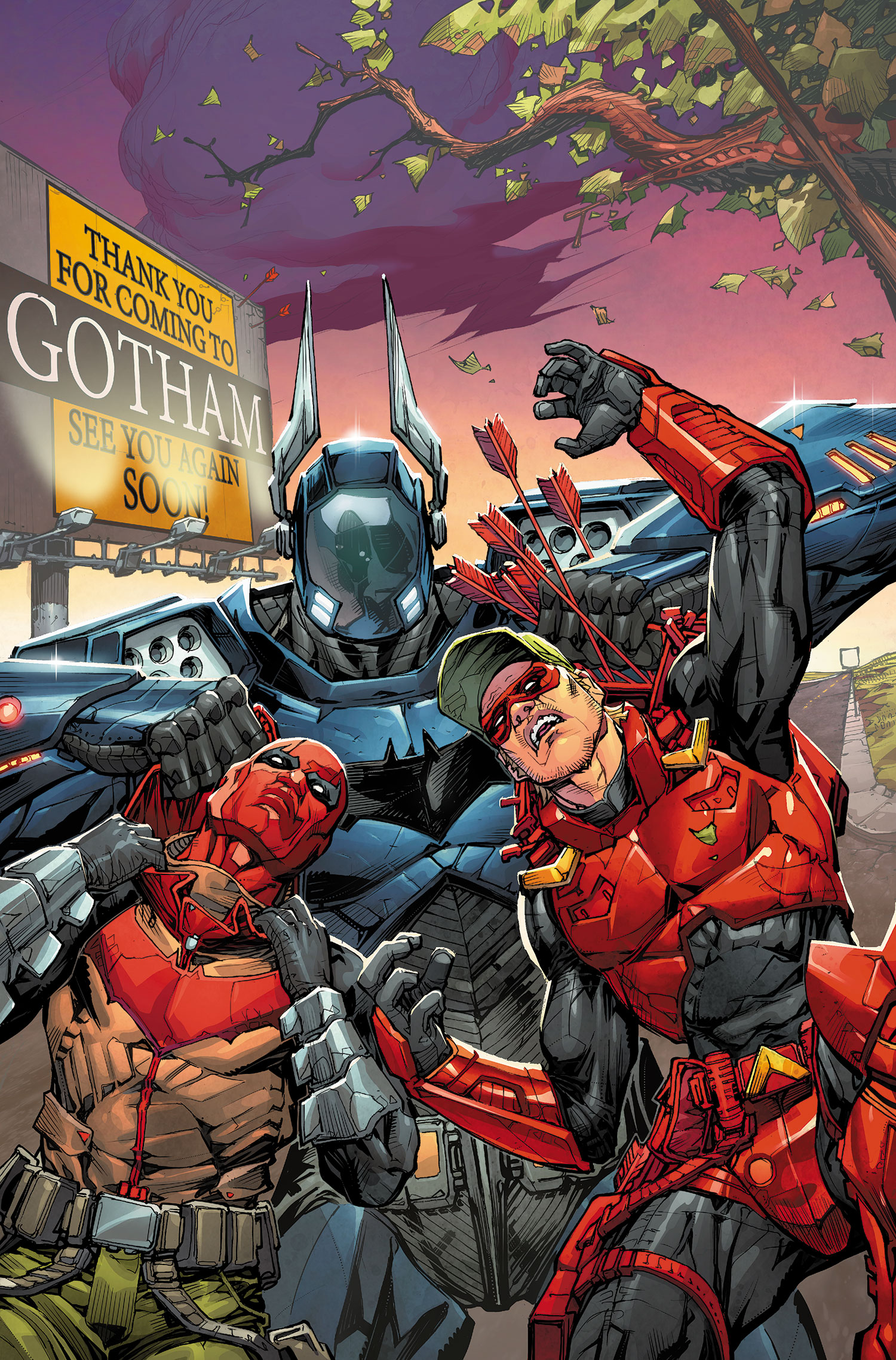 Red Hood Arsenal 5