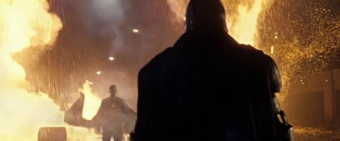 Lex Luthor instigates the showdown between Batman and Superman