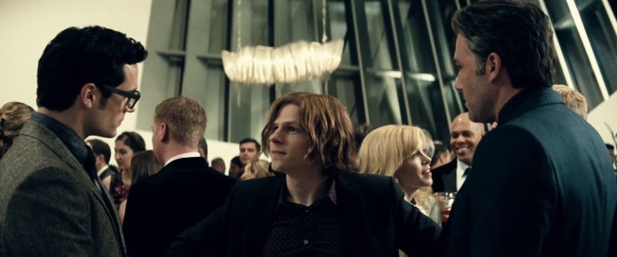Lex Luthor is manic and also knows everybody