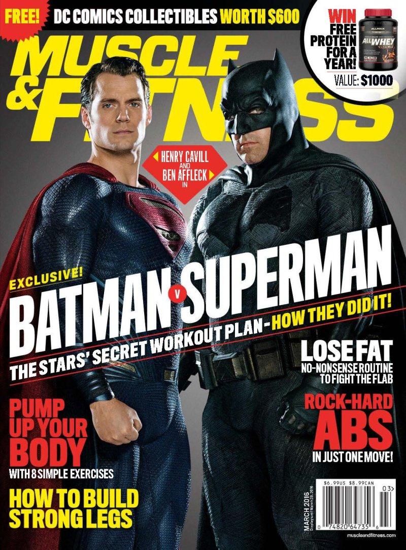 Ben Affleck And Henry Cavill Workout