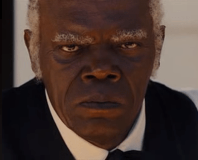 Sam Jackson angry