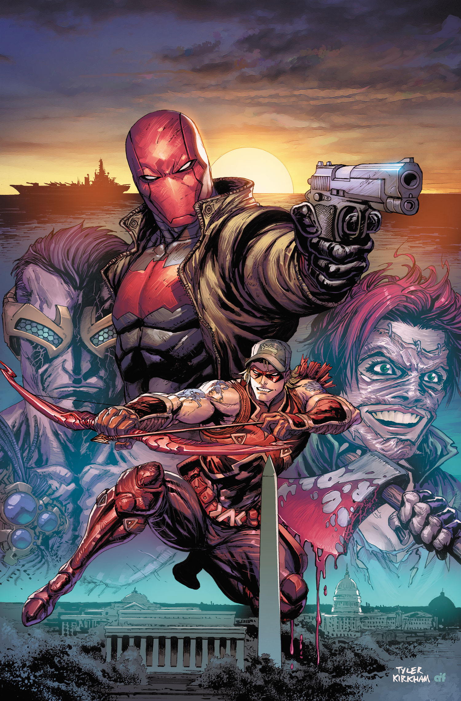 Red Hood Arsenal 10
