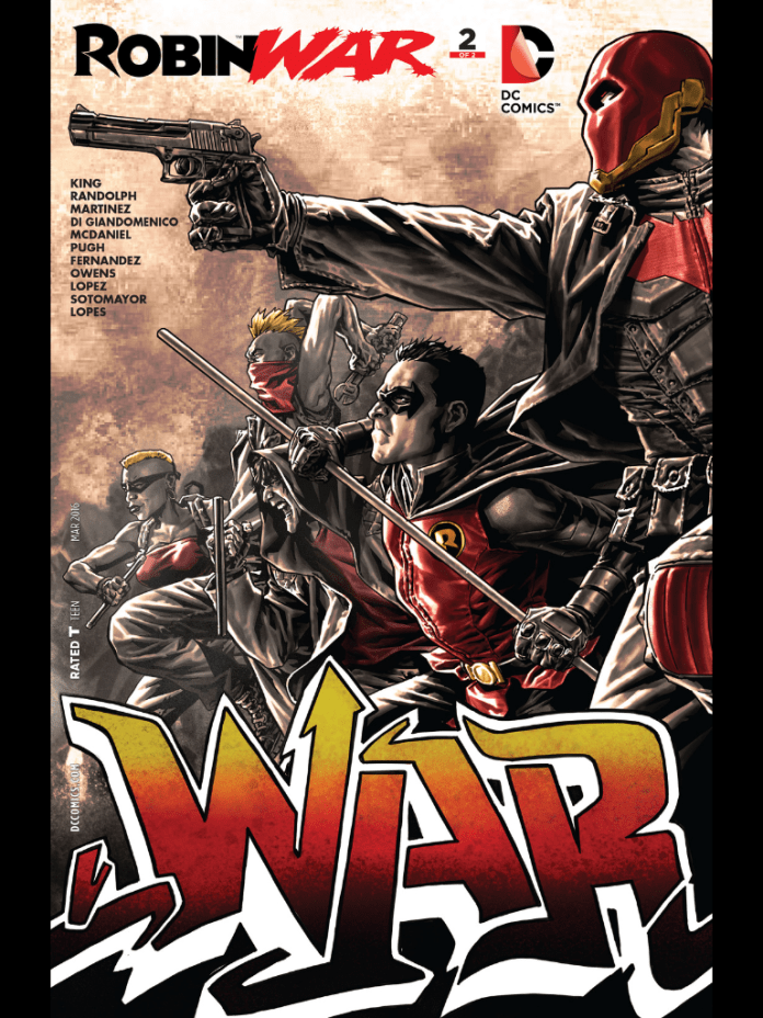 Robin War 2 by Lee Bermejo