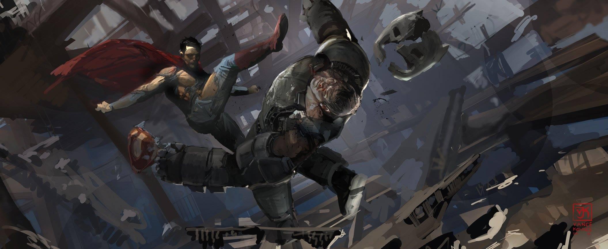 Batman V Superman Concept Art Shows Alternate Doomsday Designs