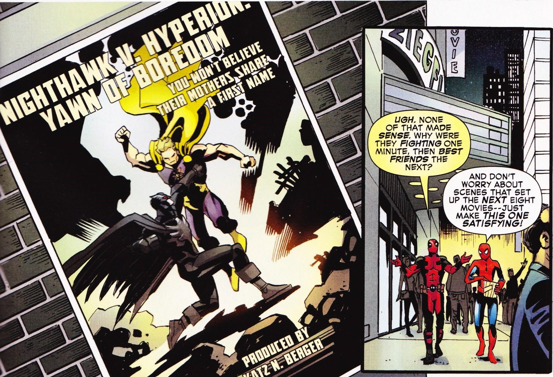"""Résultat de recherche d'images pour """"spiderman/deadpool bvs"""""""