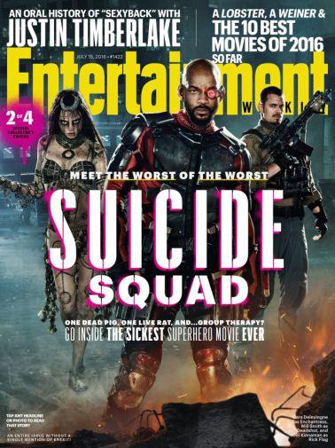 Suicide Squad EW July 2016 1