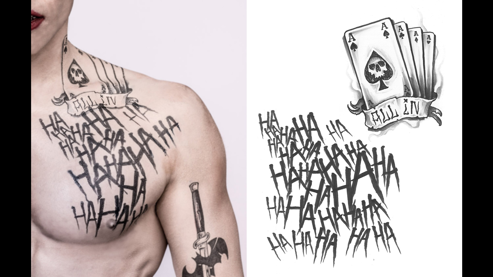 Get A Detailed Look At Jared Leto S Joker Tattoos For Suicide Squad Batman News