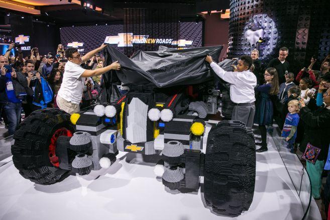 Chevrolet LEGO Movie Batmoblie